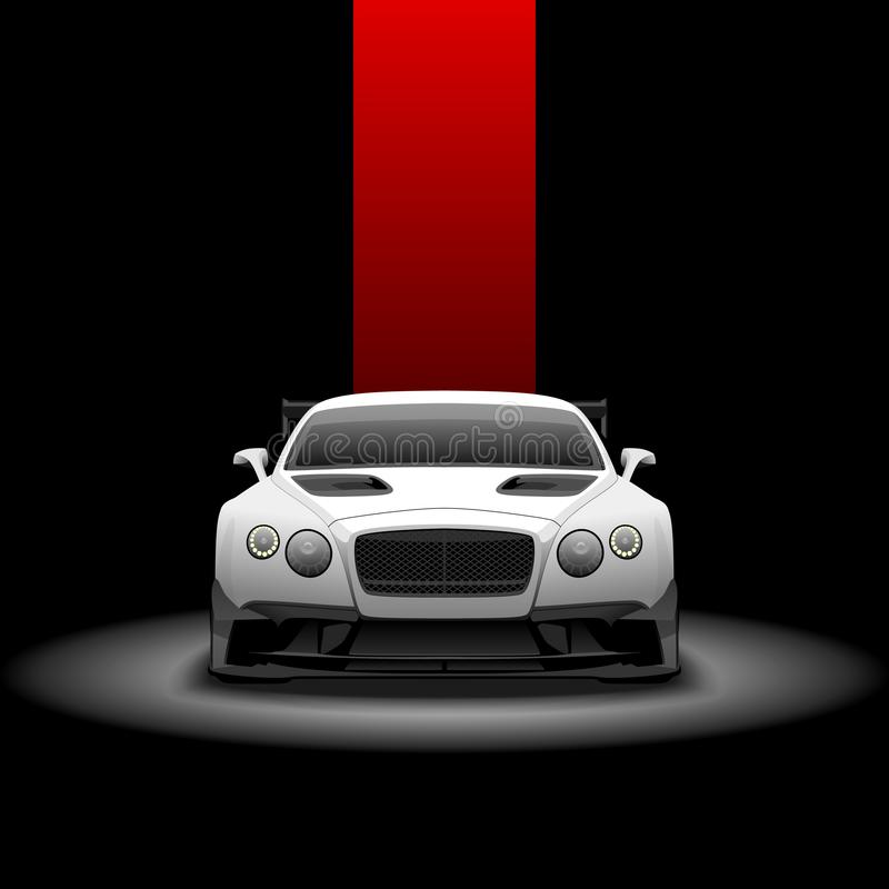 Bentley GT3 continentale illustrazione vettoriale