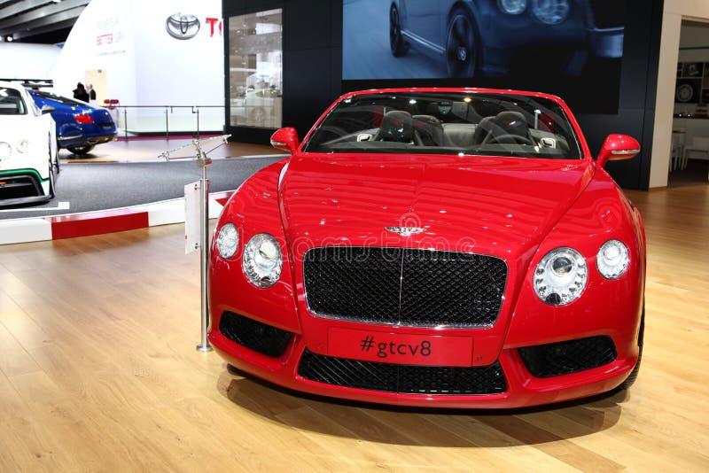Bentley GT Convertible Editorial Stock Photo