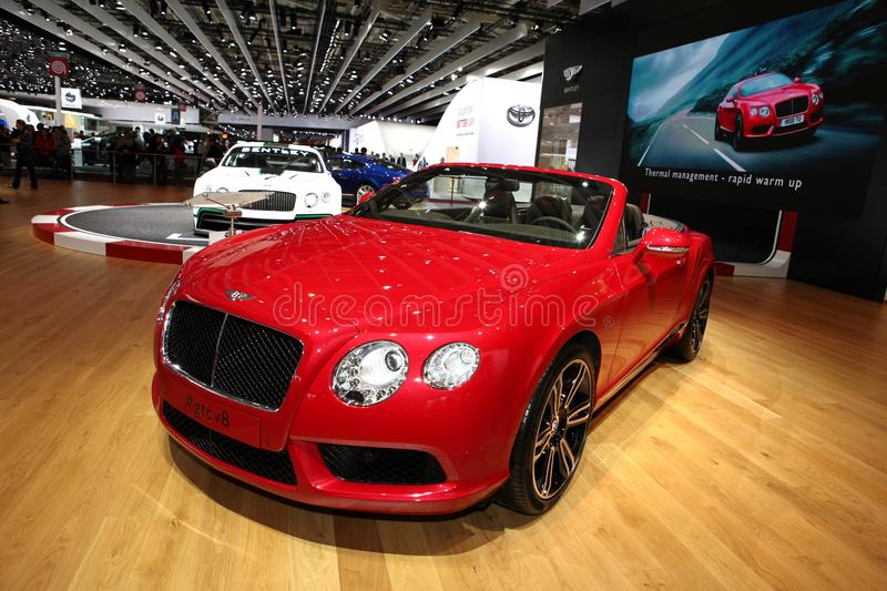 Download Bentley GT Convertible Editorial Photography - Image: 26878077