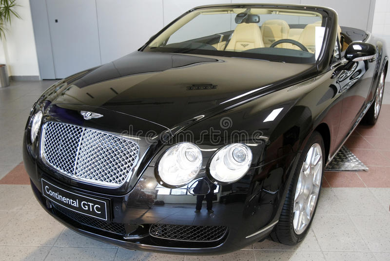Bentley GTC continental photographie stock