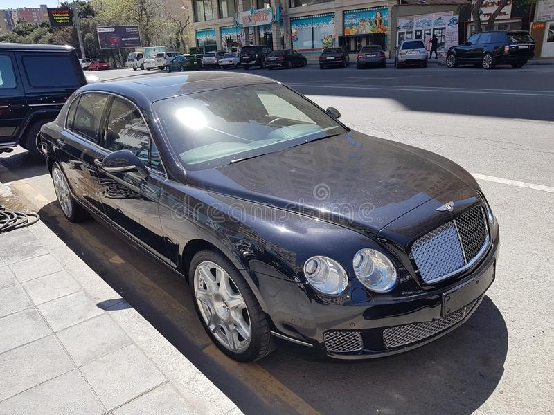 Bentley kontinental lizenzfreies stockfoto