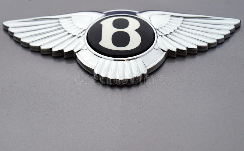 bentley logo zdjęcia royalty free