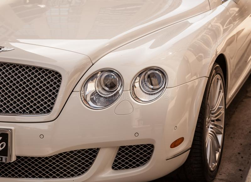 Bentley Luxury car royalty free stock photography