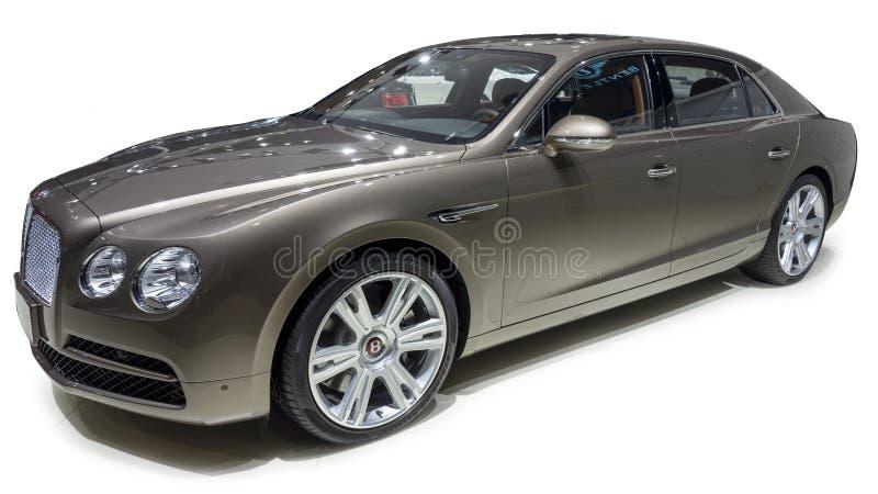 Bentley Luxury sedan arkivfoton