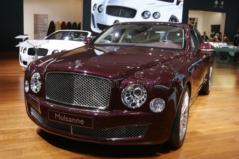 Download Bentley Mulsanne editorial photography. Image of classic - 16314737