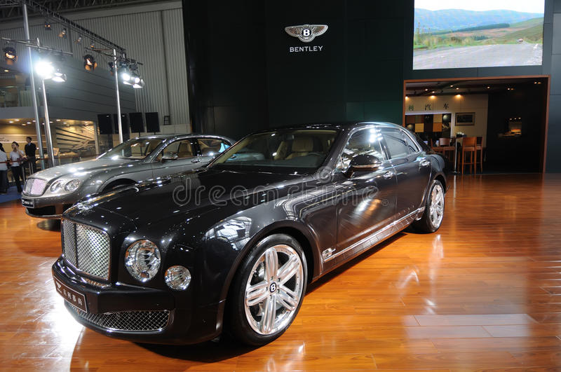 Bentley Mulsanne images stock