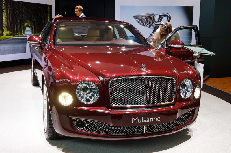 Download Bentley Mulsanne editorial image. Image of automotive - 21371680