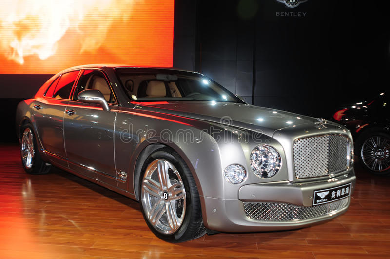 Download Bentley Mulsanne editorial image. Image of international - 21799215