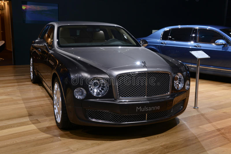 Bentley Mulsanne fotos de archivo