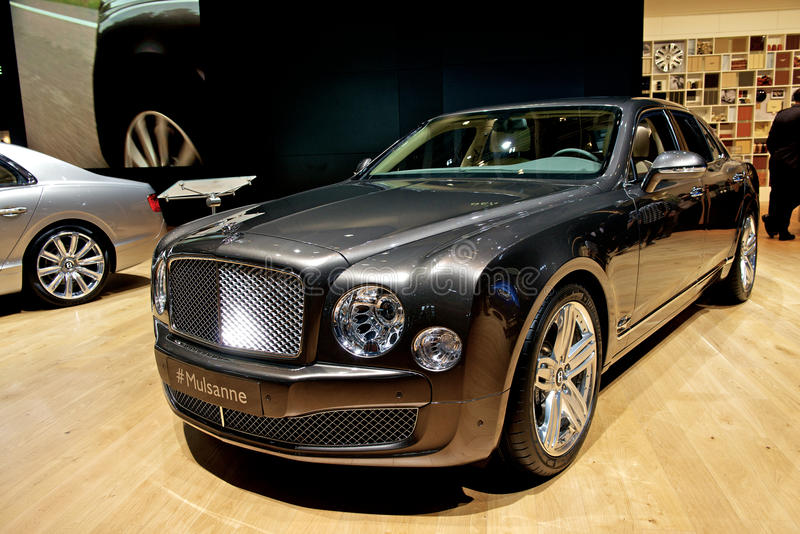 Bentley Mulsanne 2014 imágenes de archivo libres de regalías