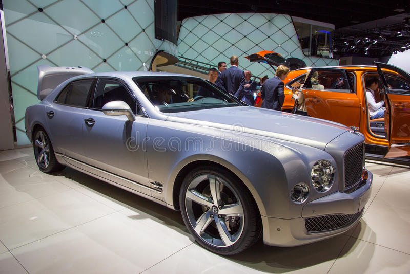 Bentley Mulsanne 库存照片