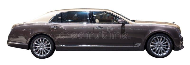 Bentley Mulsanne EWB limousine royaltyfri foto