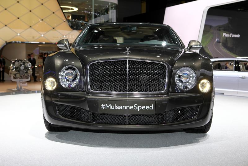 Bentley Mulsanne prędkość zdjęcie stock