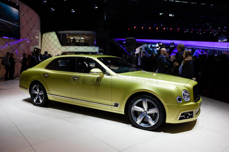 Bentley Mulsanne Speed foto de archivo