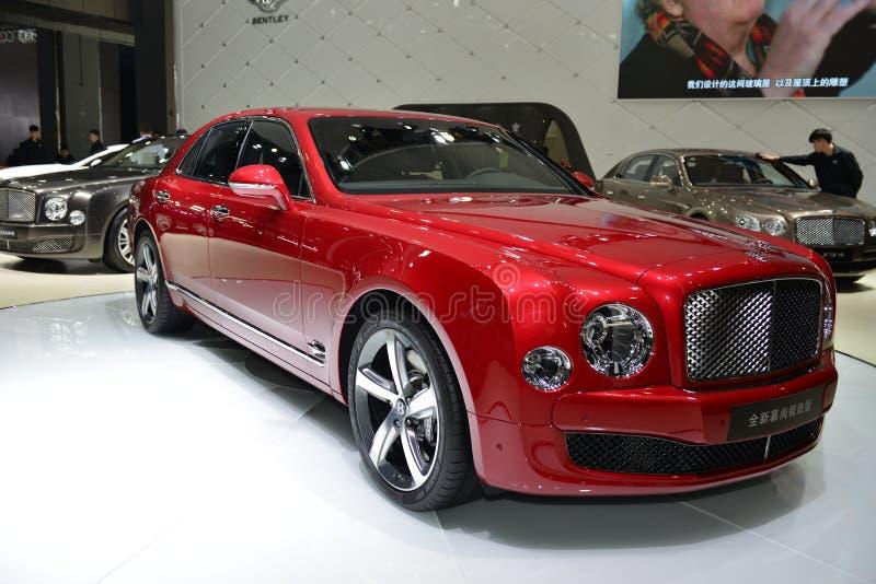 Bentley Mulsanne wersi Wysoki supercar zdjęcia stock
