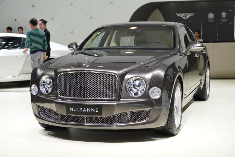 Bentley Mulsanne wydania Krańcowy supercar zdjęcie stock