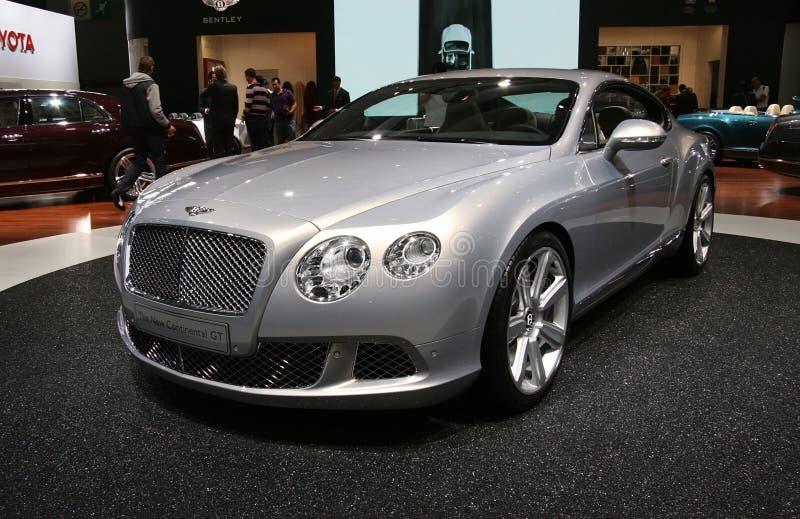 Bentley neues kontinentales GT stockfotografie