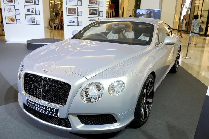 Download BENTLEY New Continental GT V8 Editorial Stock Photo - Image: 26789973