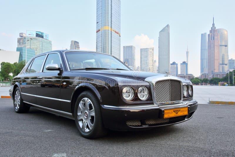 Bentley noir photo stock