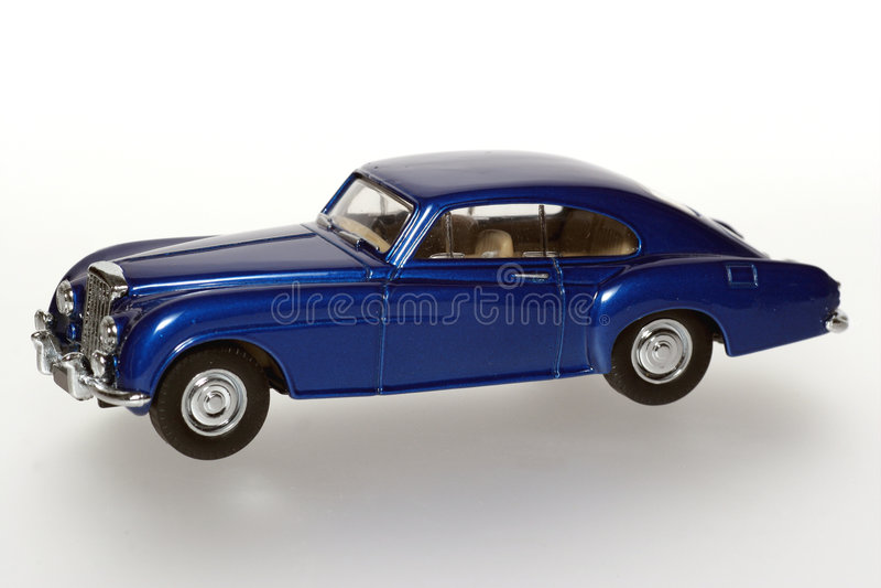 Bentley ?R? kontinentales klassisches Spielzeugauto 1955 lizenzfreie stockfotografie