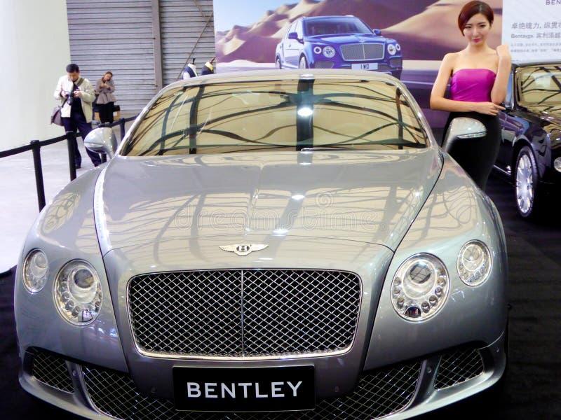 Bentley samochody model i samochody zdjęcie royalty free
