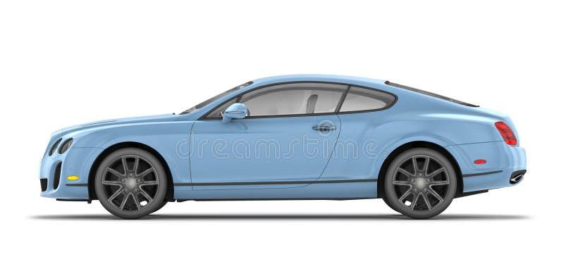 Bentley solides solubles continentaux (2010) illustration de vecteur