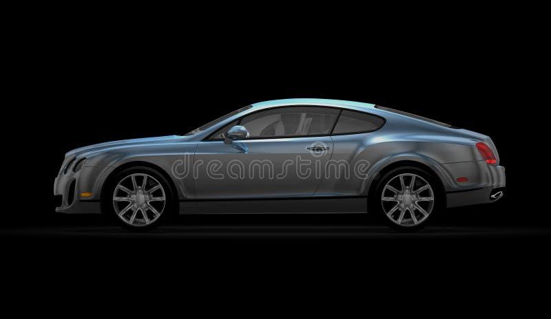 Bentley SS continentais (2010) ilustração stock