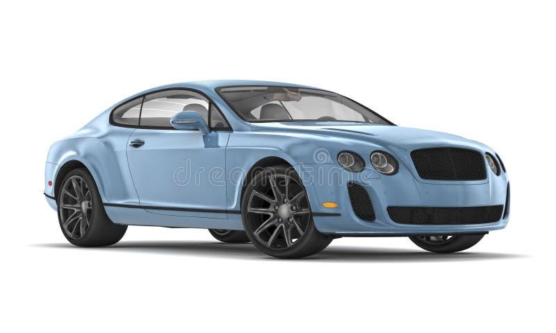 Bentley ss continentali (2010) royalty illustrazione gratis