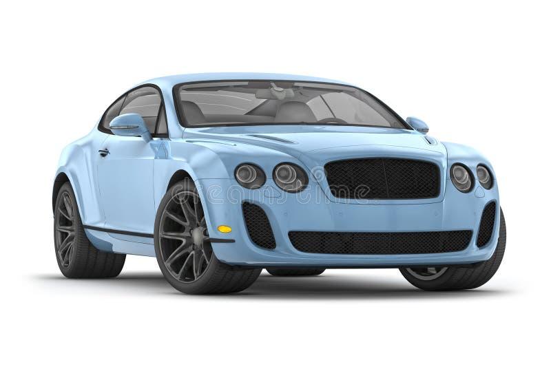 Bentley ss continentali (2010) illustrazione vettoriale
