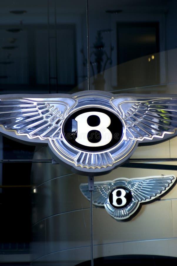 Bentley Zeichen stockfotos