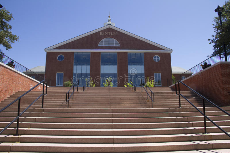 Bently schodki i biblioteka uniwersytecka zdjęcie stock