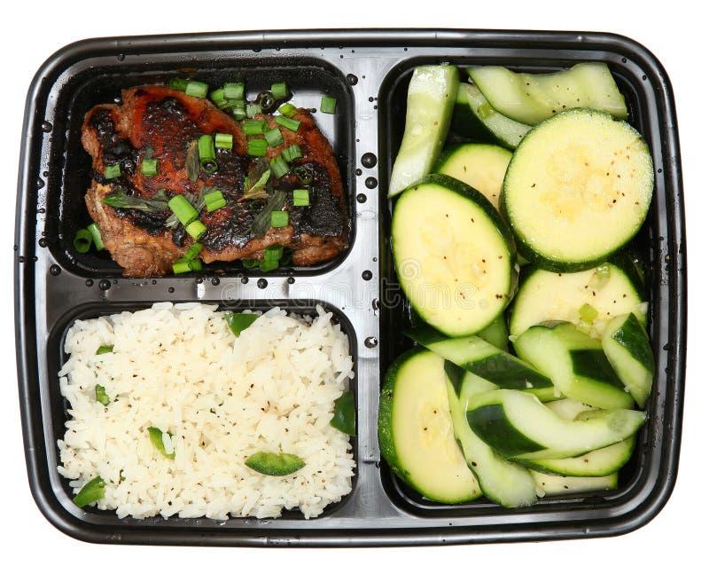Bento Box Soy-Marinated Chicken Thigh imagens de stock royalty free