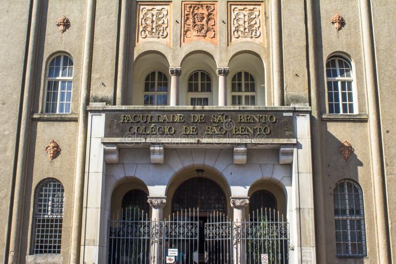 Bento del sao dell'istituto universitario immagini stock libere da diritti
