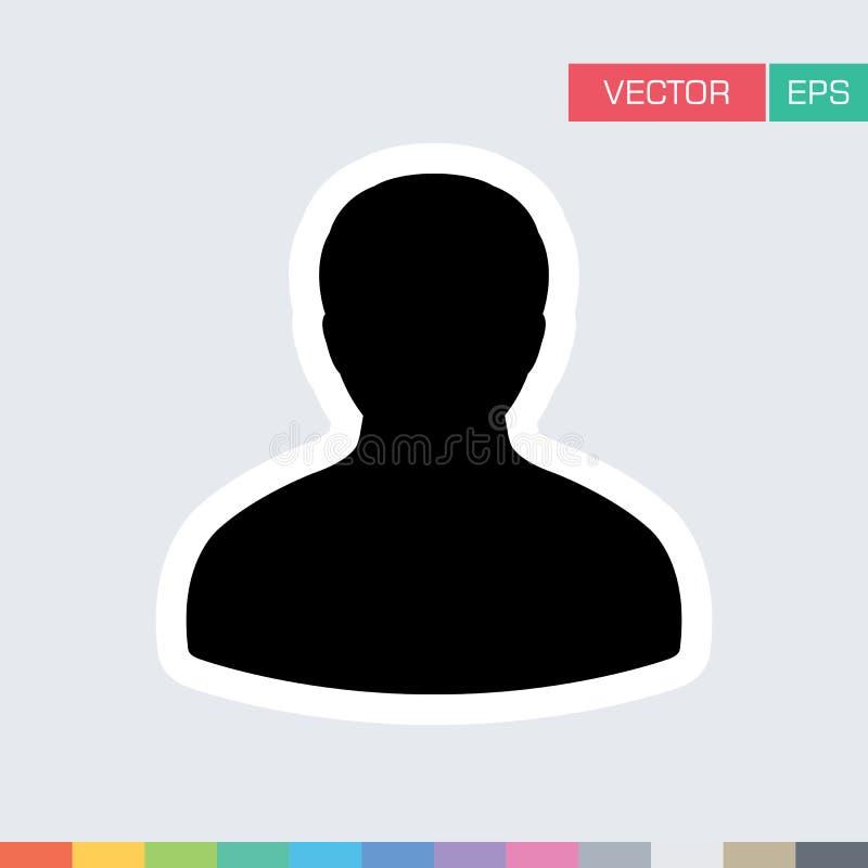 Download Benutzer-Ikonen-flache Vektor-Person Profile Avatar-Illustration Vektor Abbildung - Illustration von konto, arbeitgeber: 96925042