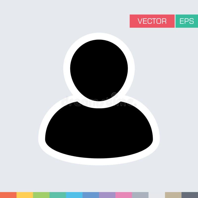 Download Benutzer-Ikonen-flache Vektor-Person Profile Avatar-Illustration Vektor Abbildung - Illustration von teilnehmer, menschlich: 96925092