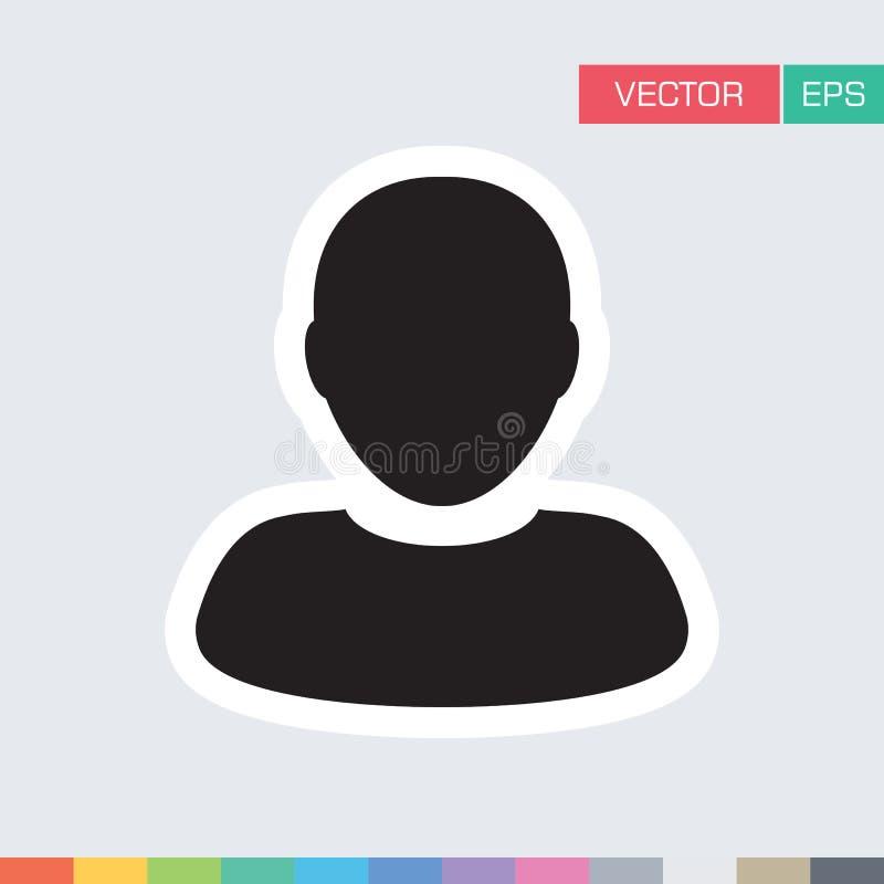 Download Benutzer-Ikonen-flache Vektor-Person Profile Avatar-Illustration Vektor Abbildung - Illustration von geschäftsmann, graphik: 96925196