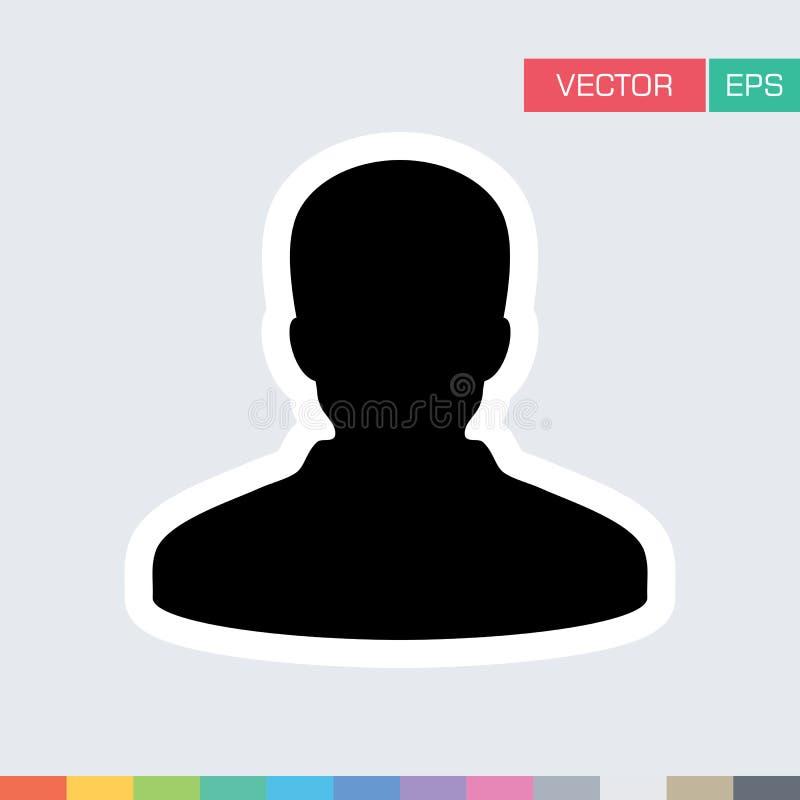 Download Benutzer-Ikonen-flache Vektor-Person Profile Avatar-Illustration Vektor Abbildung - Illustration von admin, führer: 96925346