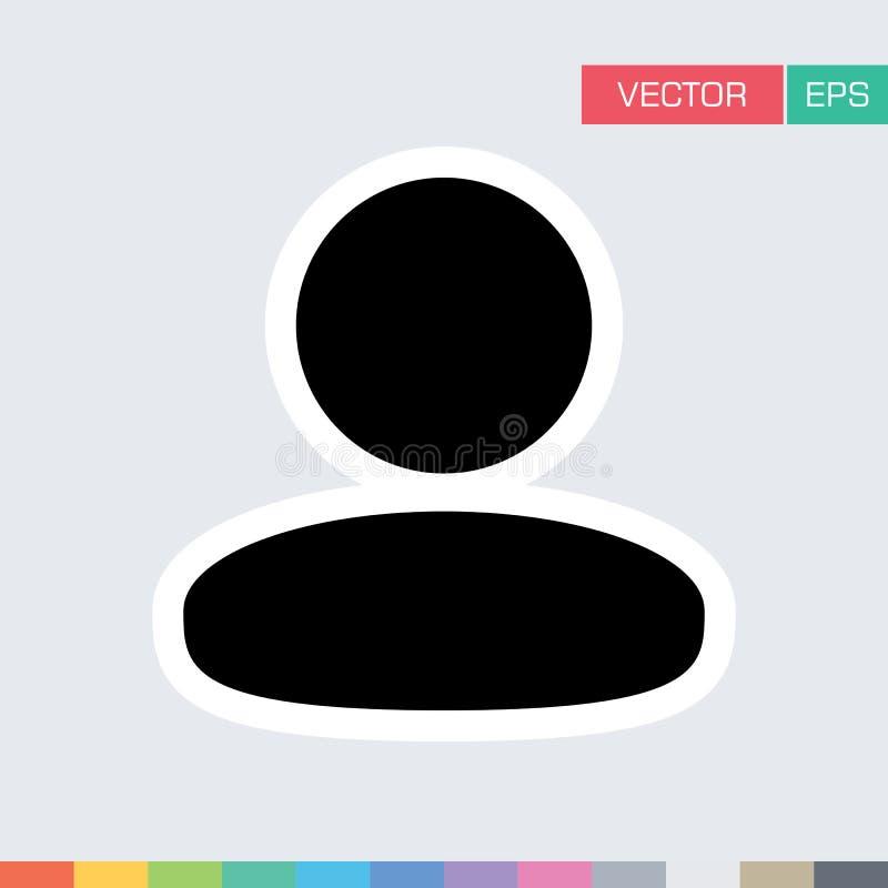 Download Benutzer-Ikonen-flache Vektor-Person Profile Avatar-Illustration Vektor Abbildung - Illustration von abbildung, zeichen: 96925389