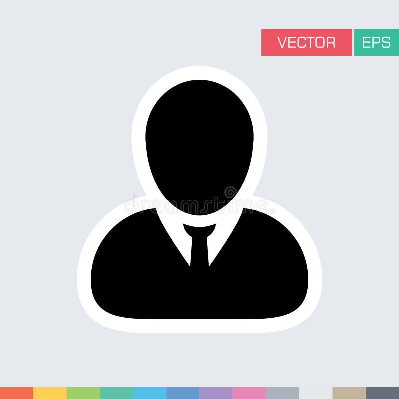 Download Benutzer-Ikonen-flache Vektor-Person Profile Avatar-Illustration Vektor Abbildung - Illustration von leitprogramm, graphik: 96925468