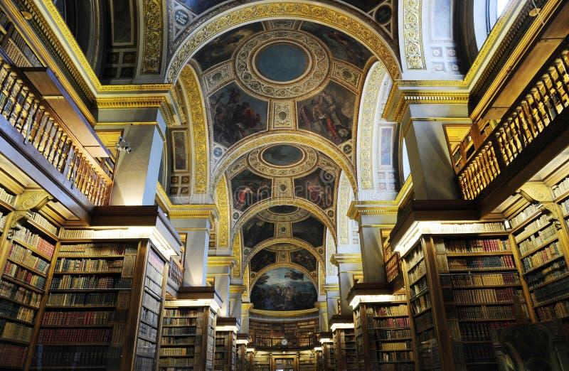 Benutzerbibliothek des Frankreich-Premierministers stockfoto
