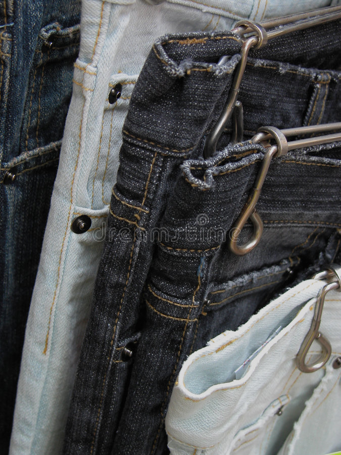 Benutzte Jeans