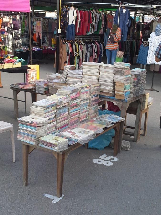 Benutzter Buchladen lizenzfreie stockbilder
