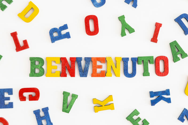 Download Benvenuto 库存图片. 图片 包括有 信函, 好客, 蓝色, 红色, 容差, 系列, 意大利, 文化 - 59102503