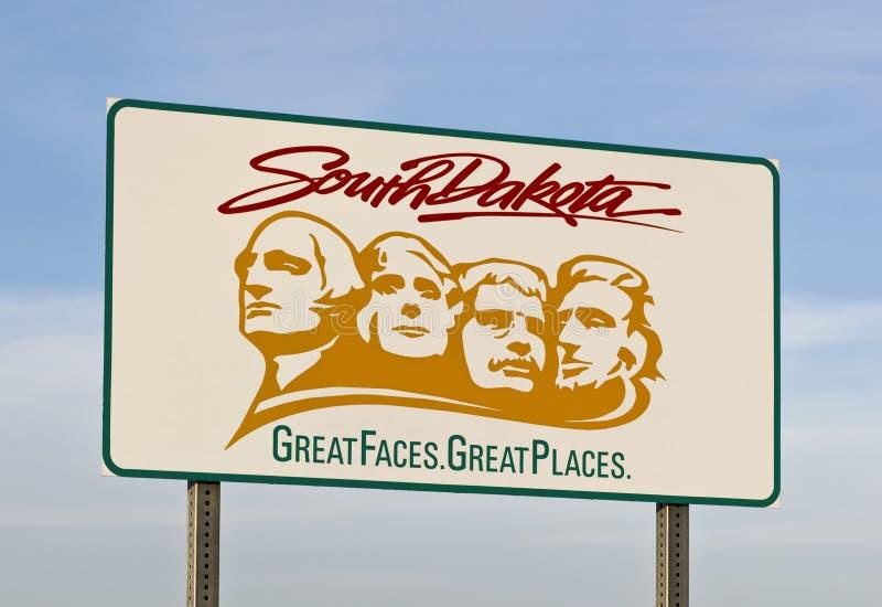 Benvenuto al Dakota del Sud immagine stock libera da diritti