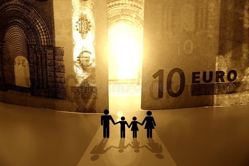 Benvenuto al regno di soldi, II fotografia stock libera da diritti