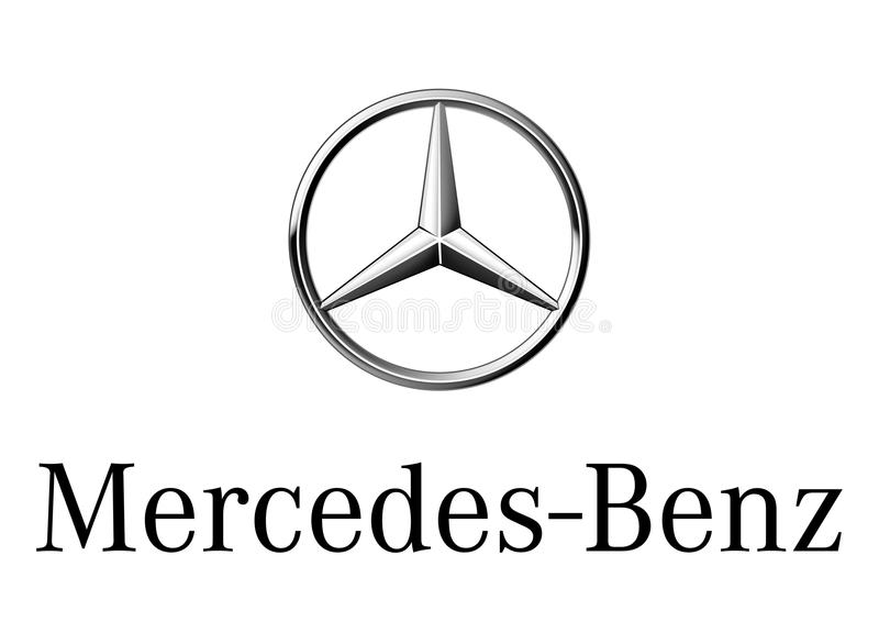 Benz της Mercedes λογότυπων