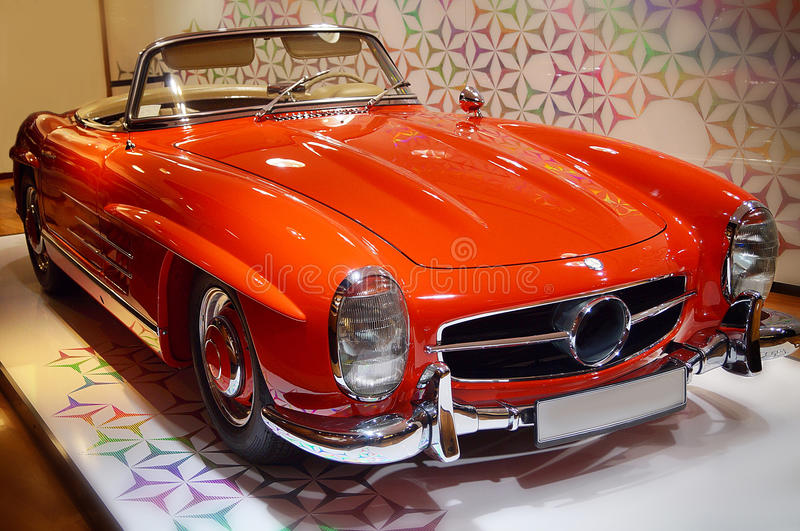 Benz της Mercedes στοκ φωτογραφία