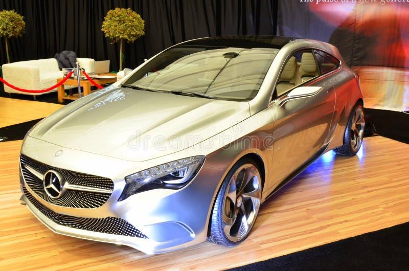 Benz Мерседес автомобиль принципиальной схемы типа - SIAMB 2012 стоковое изображение rf