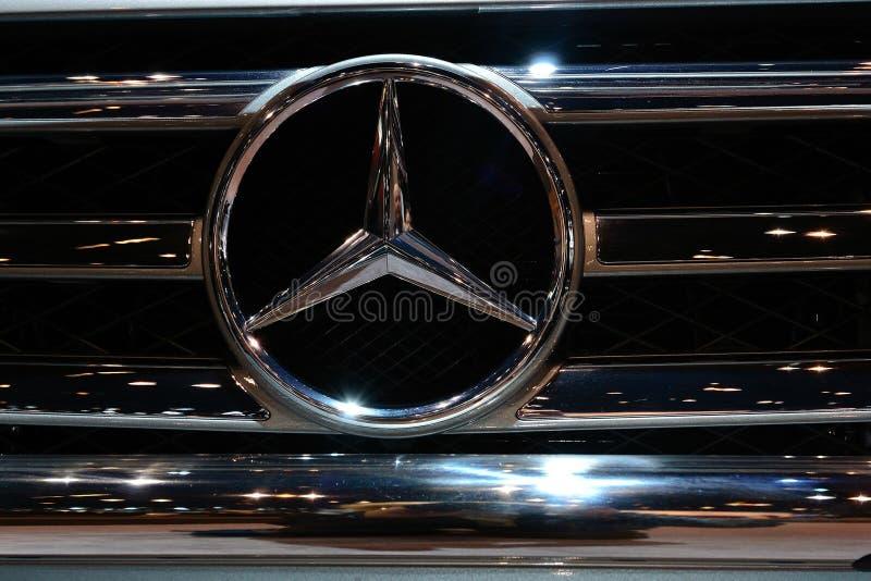 benz 300 λογότυπο Mercedes slk στοκ εικόνες