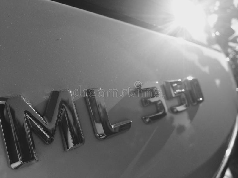 Benz Amg power royalty free stock photography